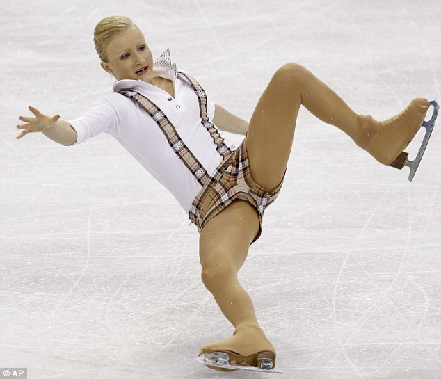 ice nude Olympic skating